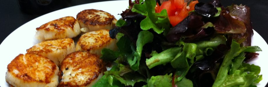 Seattle Fish Company &amp; Grill - Pan Seared Scallops