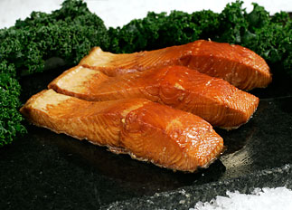 Smoked White King Salmon