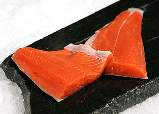 Wild Coho Salmon Fillet